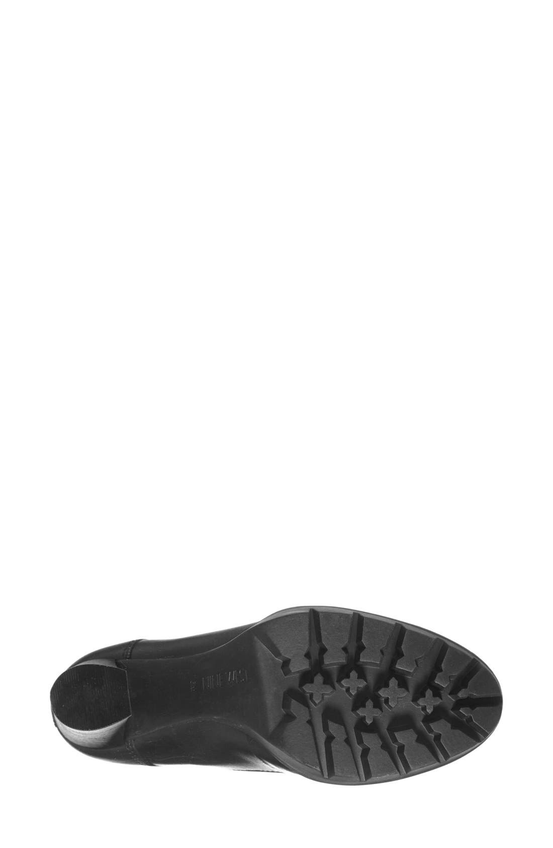 Alternate Image 4  - Nine West 'Abrial' Lace-Up Bootie (Women)