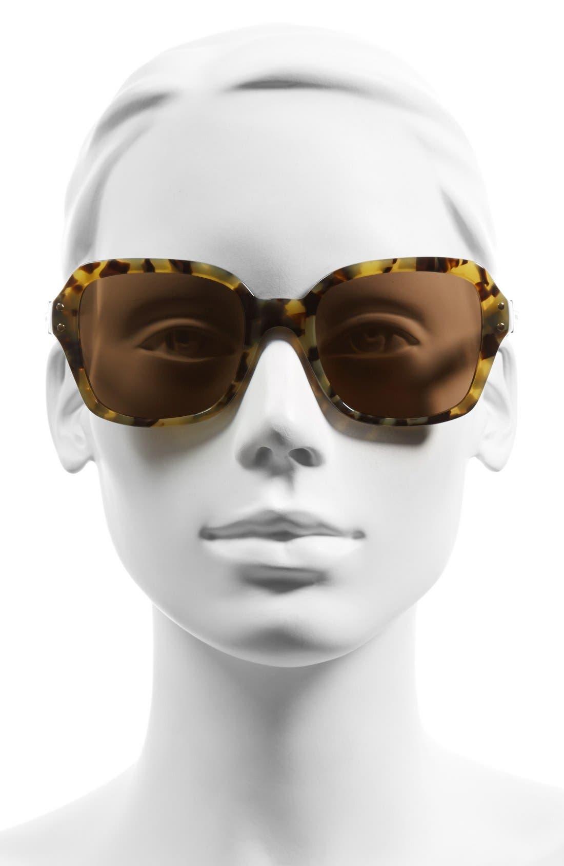 Alternate Image 2  - Tory Burch 55mm Retro Sunglasses