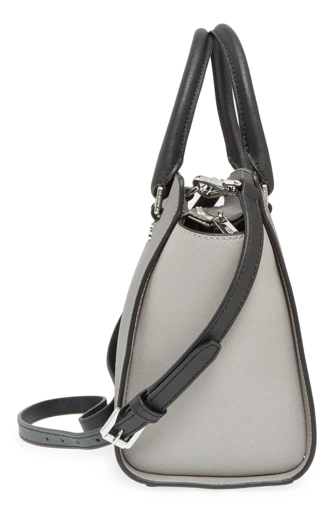 Alternate Image 5  - MICHAEL Michael Kors 'Selma - Medium' Saffiano Leather Crossbody Bag