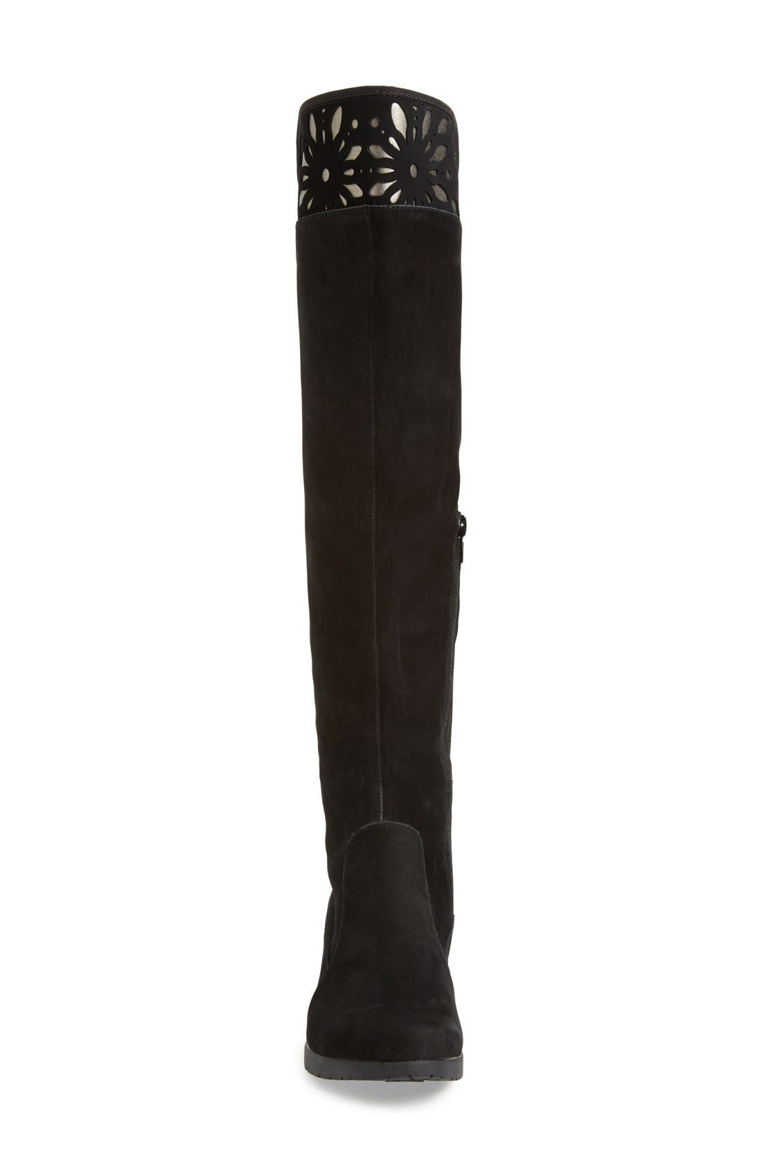 Alternate Image 3  - Jambu 'Natalia' Cutout Detail Water Resistant Over the Knee Boot (Women)