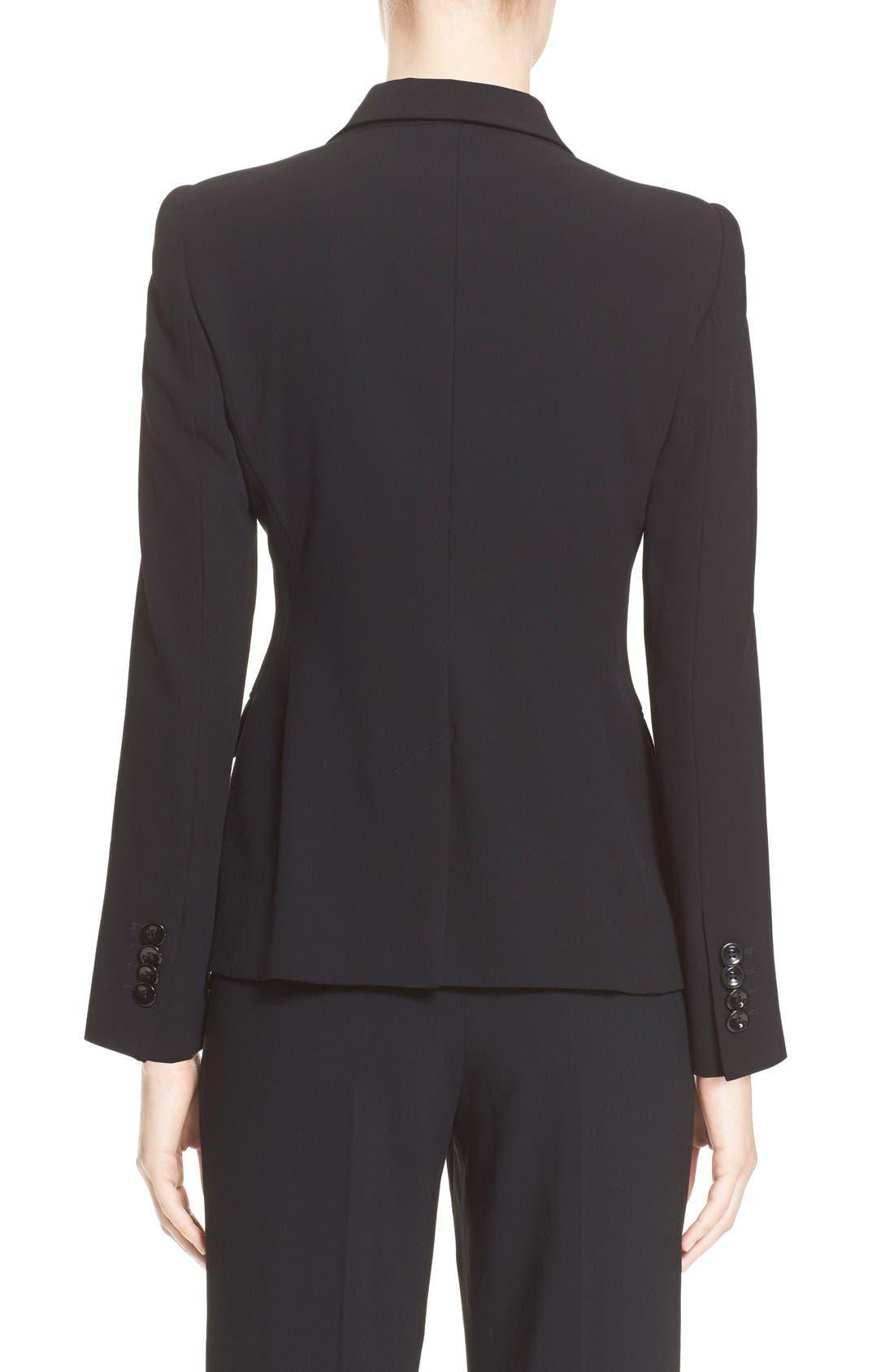 Alternate Image 5  - Armani Collezioni Single Button Wool Jacket