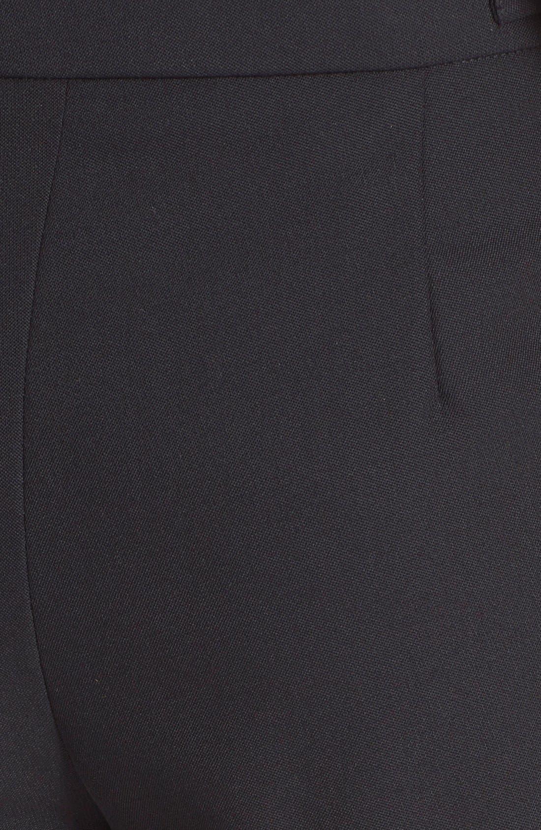 Alternate Image 3  - Alexander Wang Pleated Wool Shorts