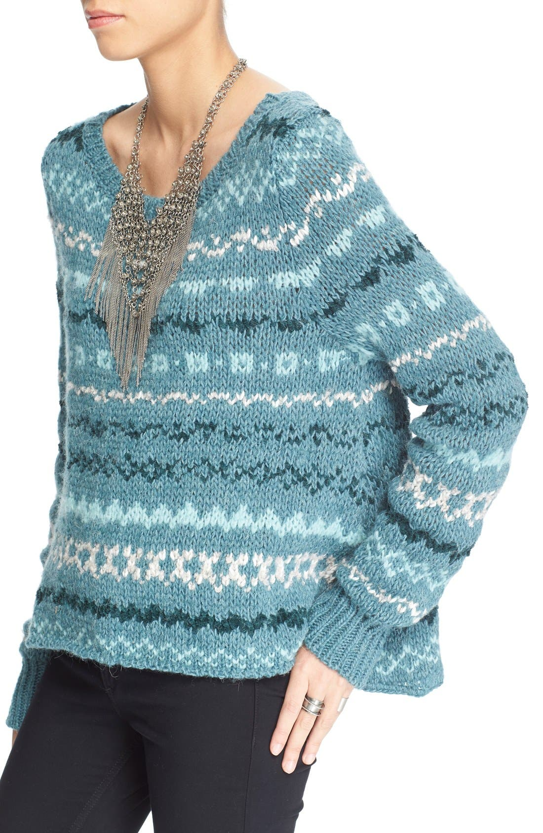 Alternate Image 4  - Free People 'Through the Storm' Sweater