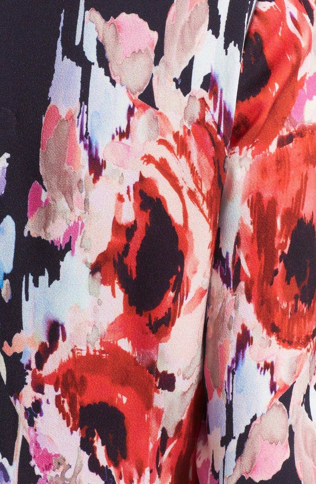 Alternate Image 5  - kate spade new york floral print v-neck dress
