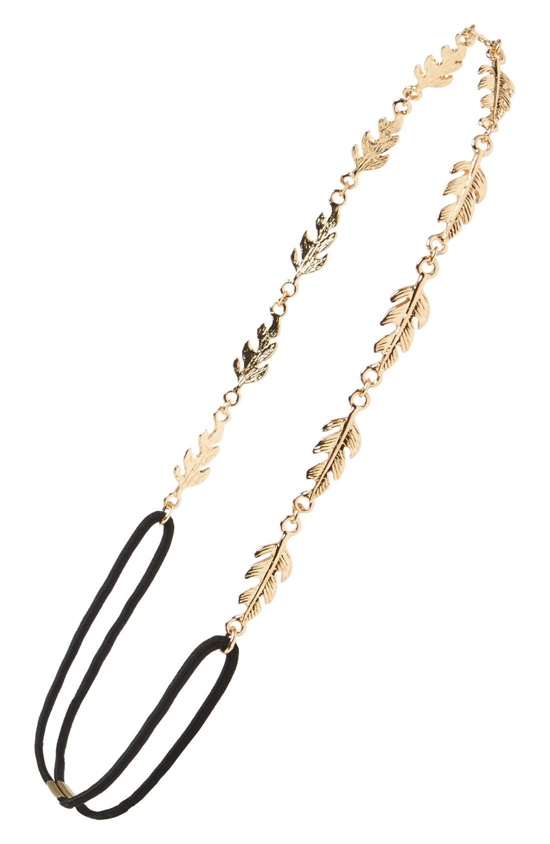 Alternate Image 1 Selected - BP. Metal Leaf Headband