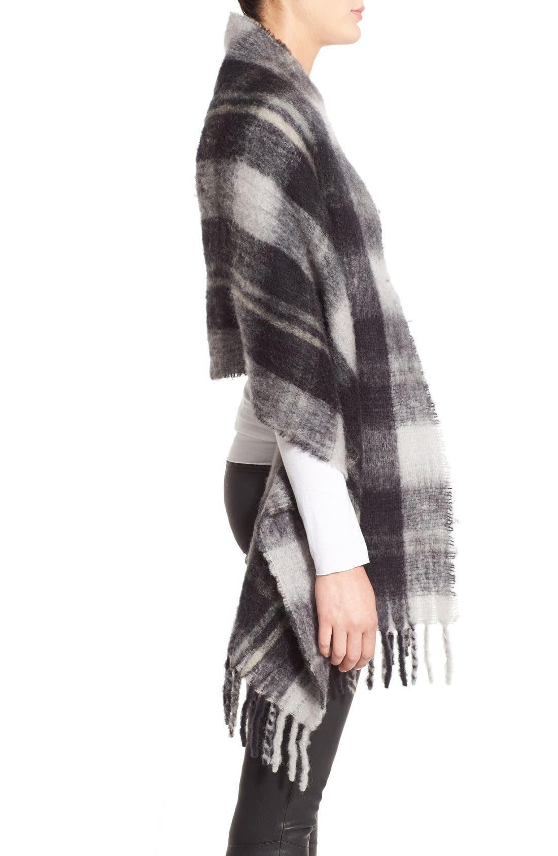 Alternate Image 3  - MARC BY MARC JACOBS Plaid Blanket Scarf