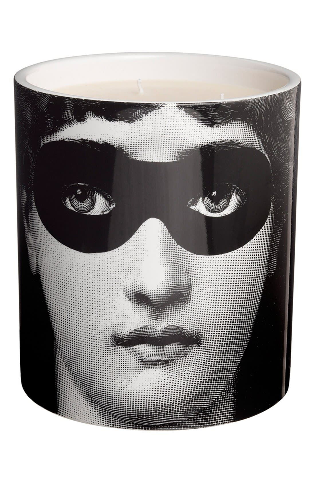 Alternate Image 2  - Fornasetti 'Burlesque - Otto' Large Candle