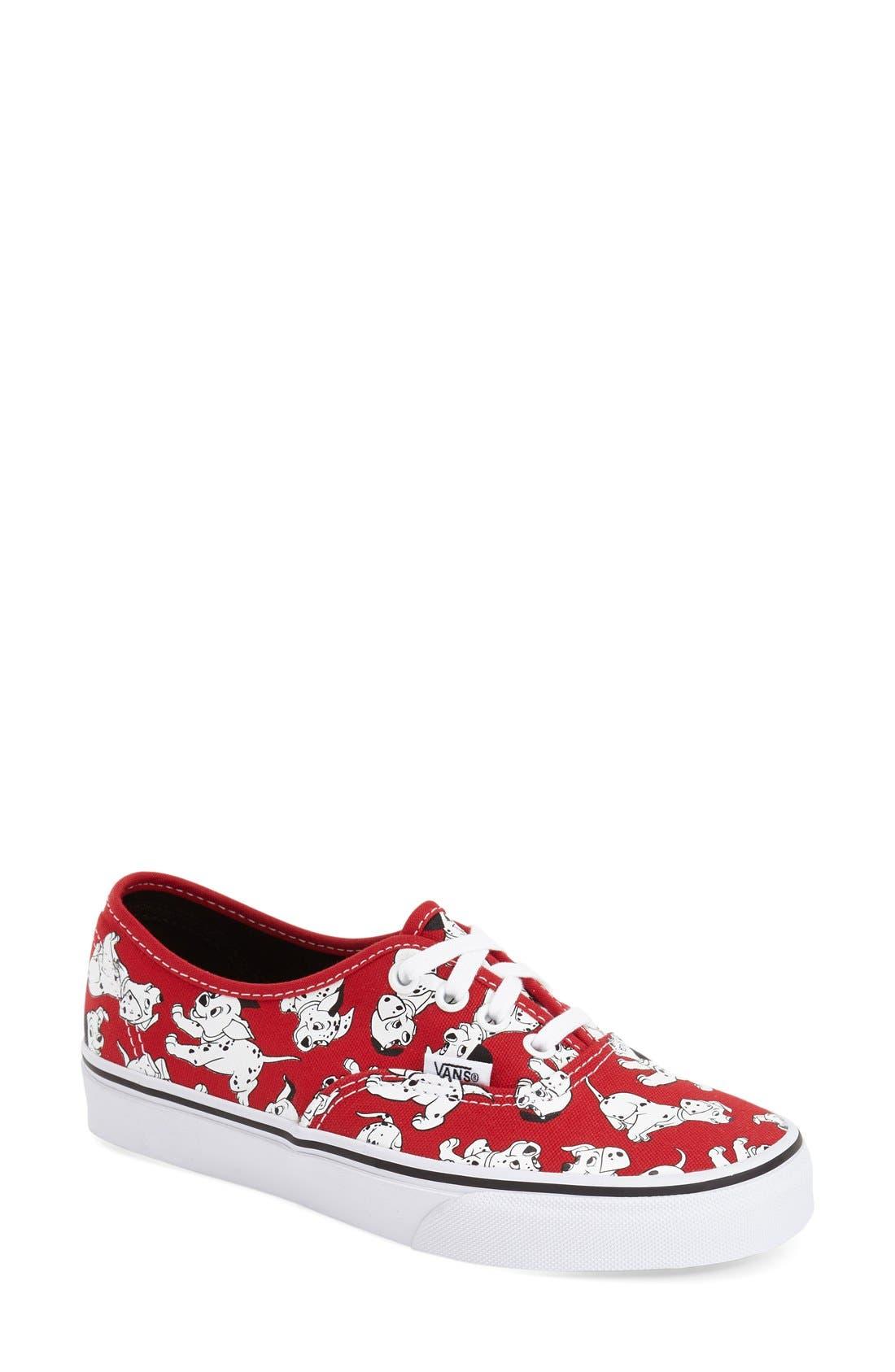 Alternate Image 1 Selected - Vans 'Authentic - Disney® 101 Dalmatians®' Sneaker (Women)