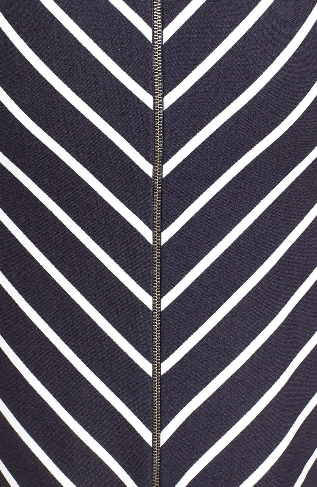 Alternate Image 5  - Classiques Entier® 'Orizzonte' Ponte Knit Faux Wrap Dress
