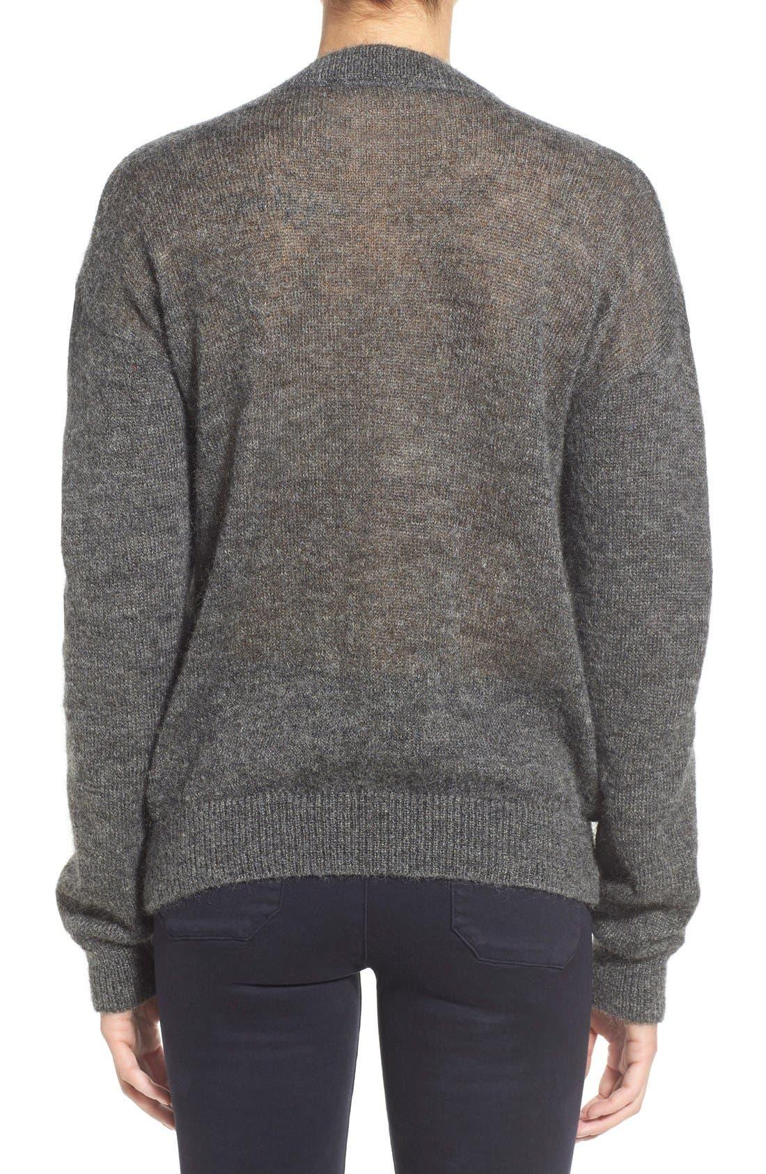 Alternate Image 2  - M.i.h. Jeans 'Delo' Mohair Blend Crewneck Sweater