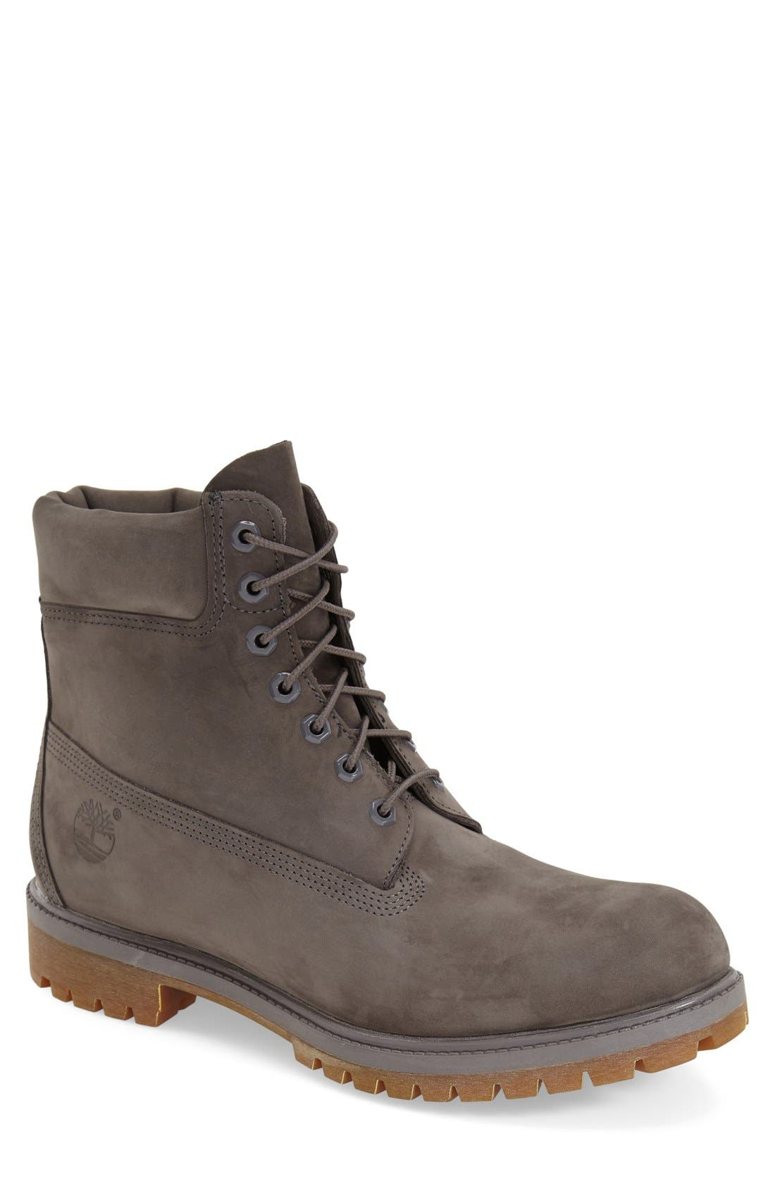 Alternate Image 1 Selected - Timberland 'Monochromatic' Waterproof Plain Toe Boot (Men)