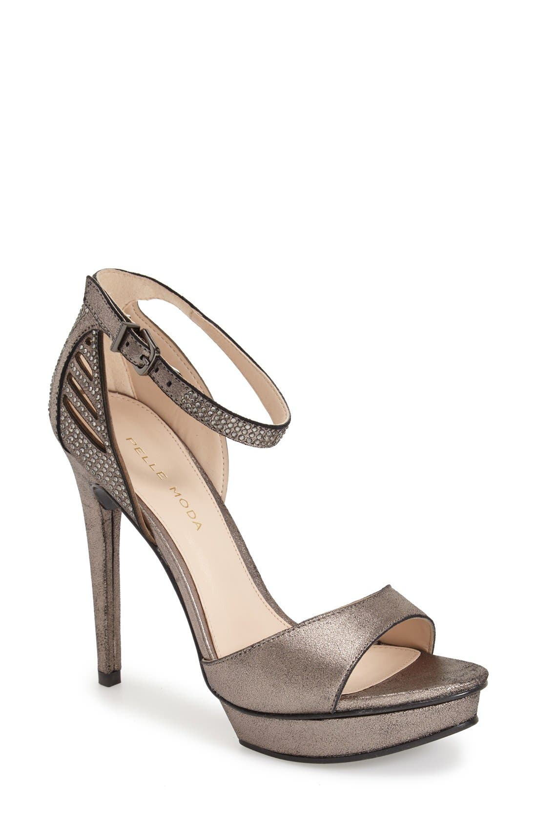 Alternate Image 1 Selected - Pelle Moda 'Fenton' Ankle Strap Sandal (Women)