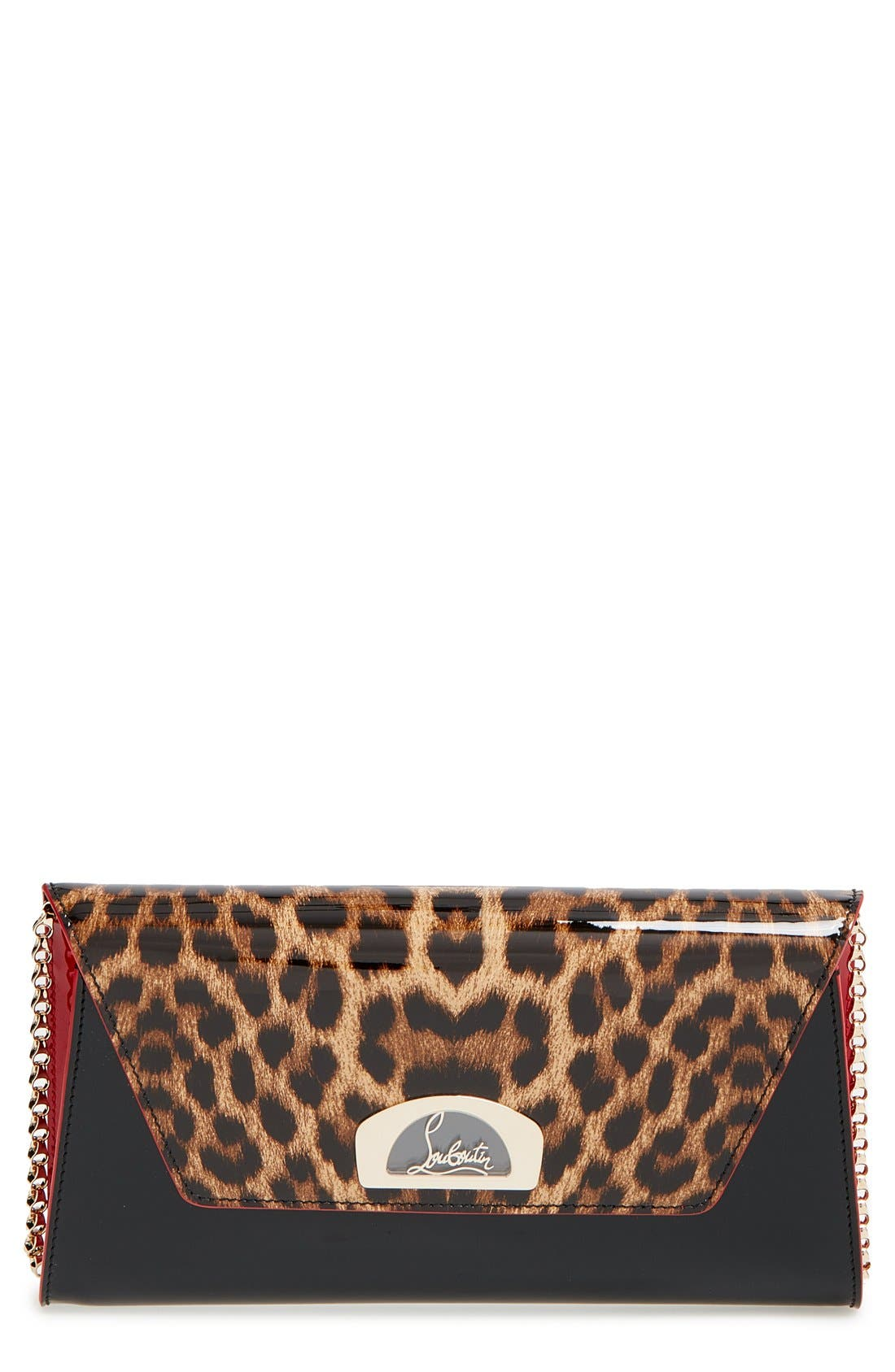 Alternate Image 1 Selected - Christian Louboutin 'Vero Dodat' Patent Clutch