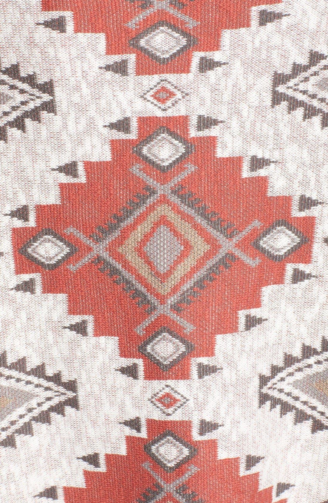 Alternate Image 5  - Sun & Shadow Blanket Cardigan