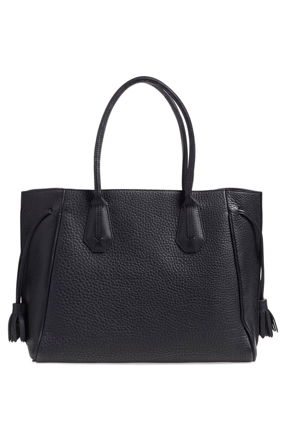 Alternate Image 3  - Longchamp 'Penelope' Tassel Drawstring Leather Tote