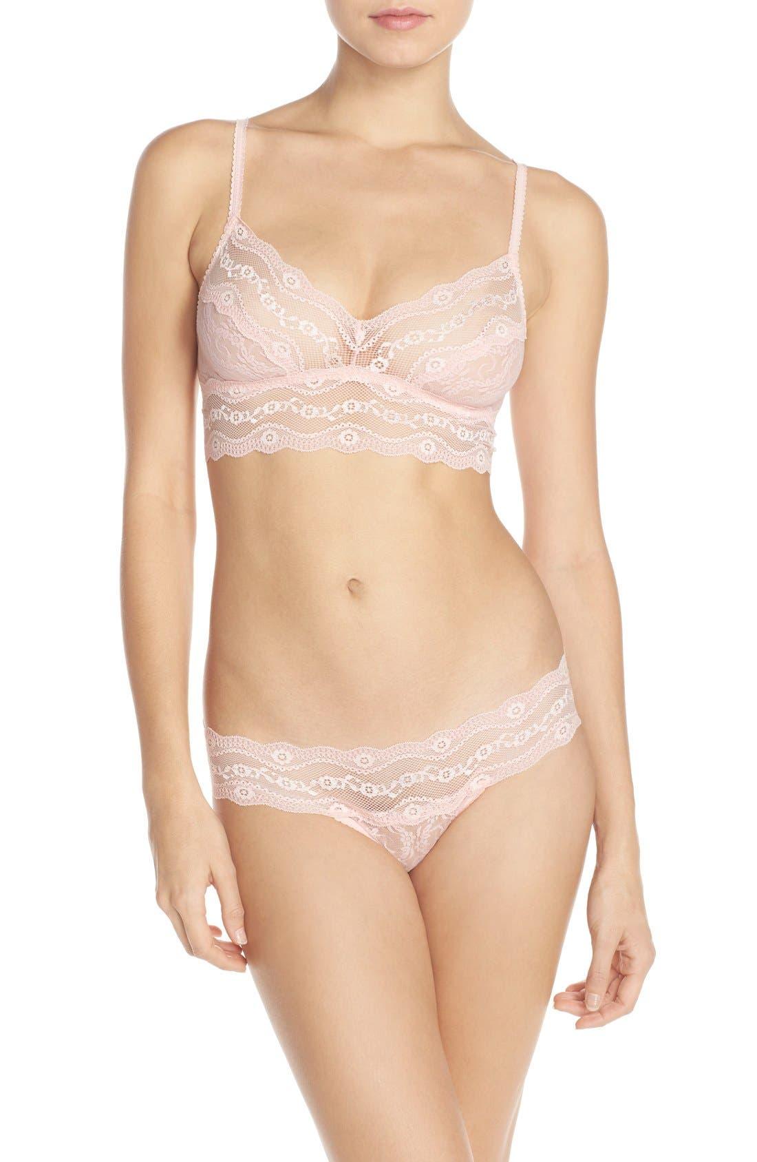 b.tempt'd by Wacoal 'Lace Kiss' Bralette & Bikini