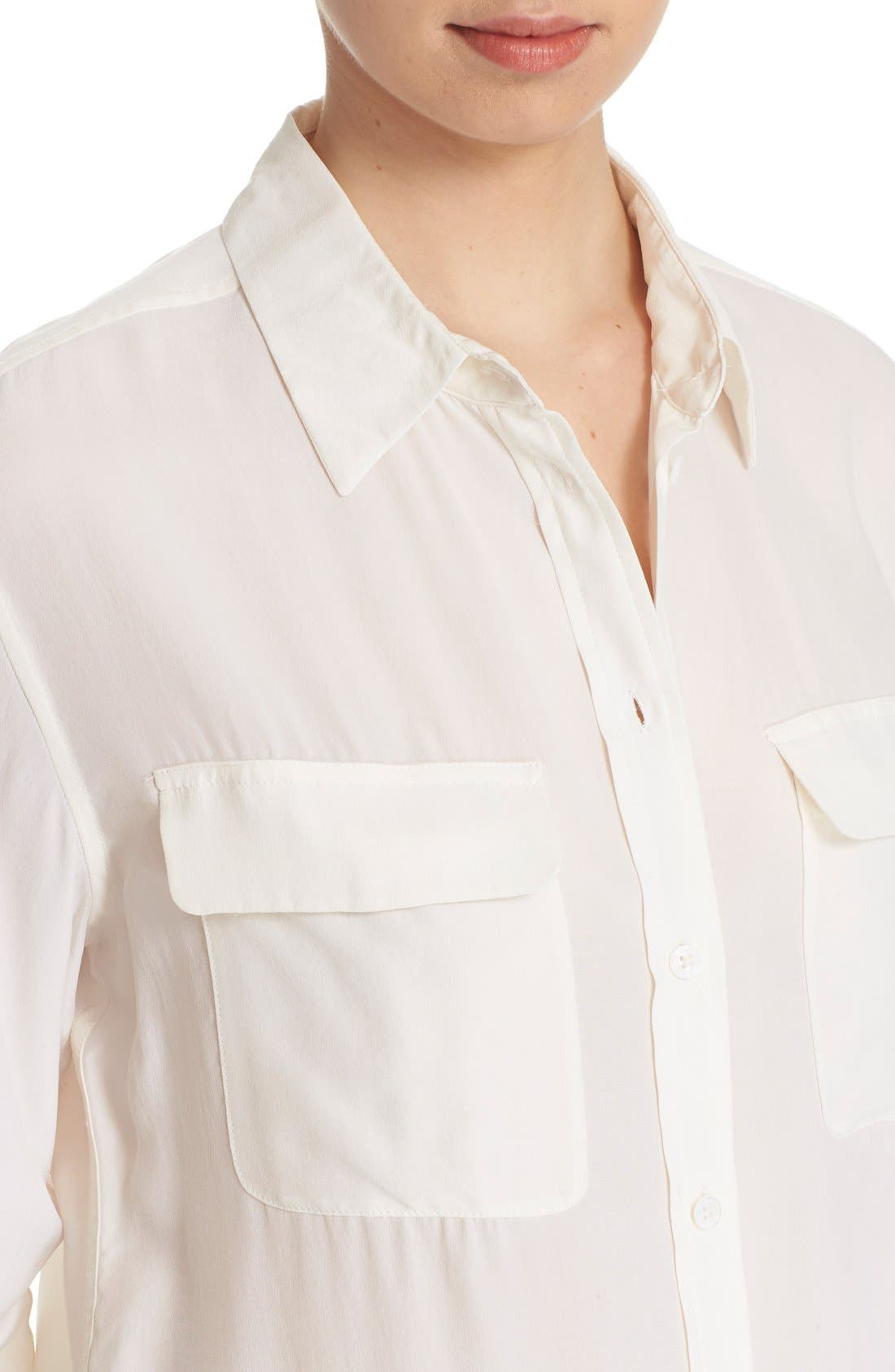 Alternate Image 4  - Equipment 'Signature' Silk Shirt