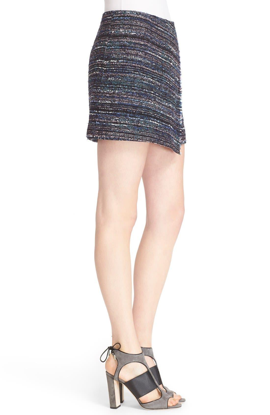 Alternate Image 3  - Diane von Furstenberg 'Austyn' Woven Tweed Miniskirt