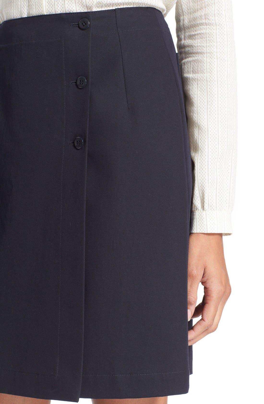 Alternate Image 4  - A.P.C. 'Lana' Cotton Skirt