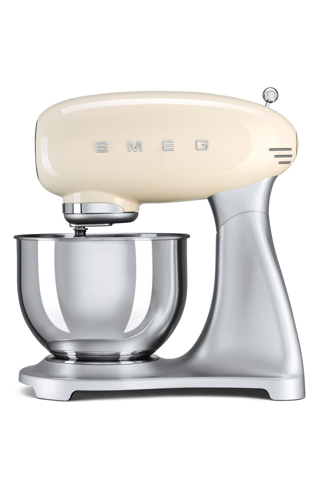 Alternate Image 1 Selected - smeg '50s Retro Style Aesthetic' Five Quart Stand Mixer