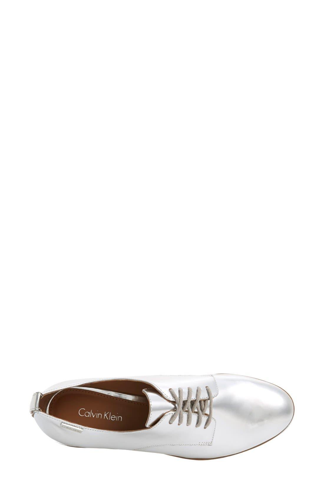 Alternate Image 3  - Calvin Klein 'Camella' Oxford (Women)