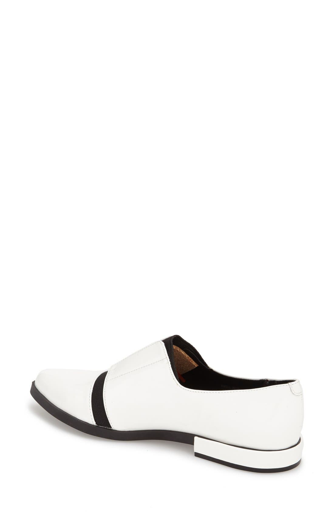 Alternate Image 2  - Calvin Klein 'Pamelle' Pointy Toe Oxford (Women)