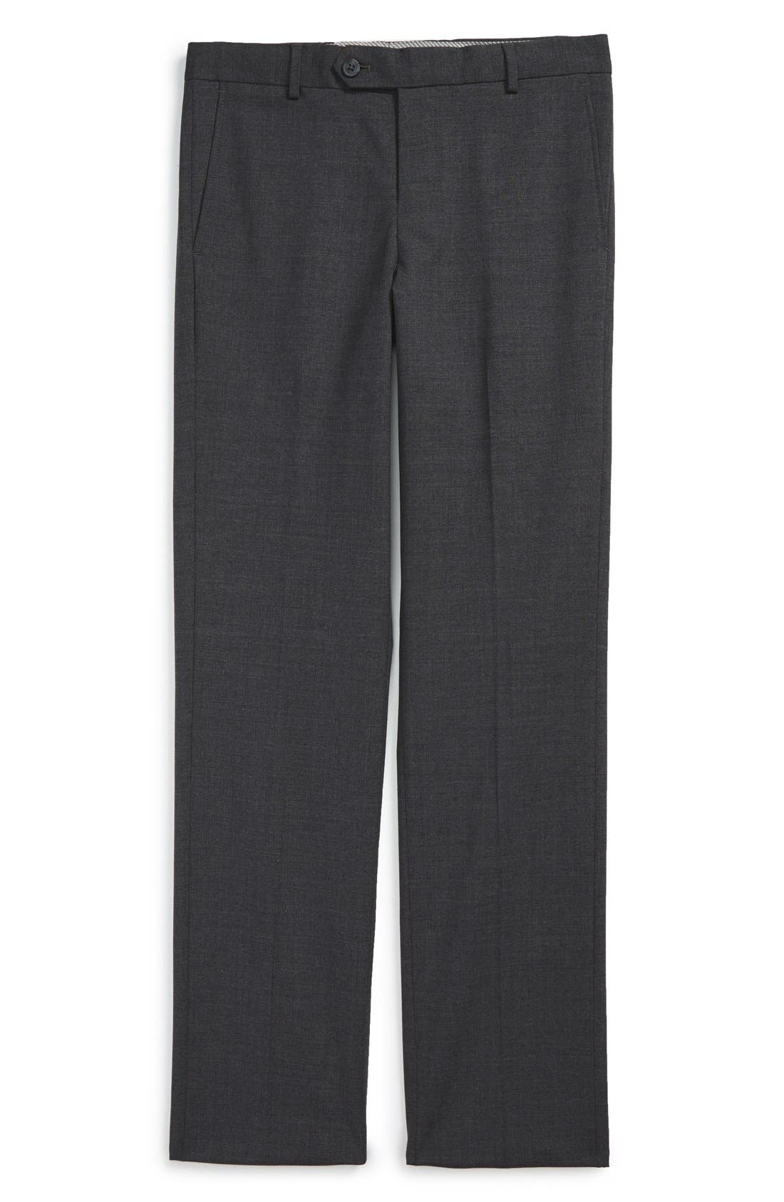 NORDSTROM 'Parker' Modern Fit Stretch Trousers