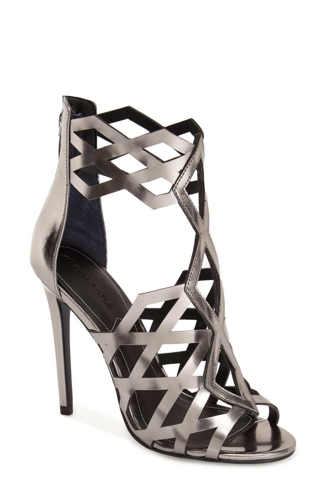 Alternate Image 1 Selected - KENDALL + KYLIE 'Elena' Cutout Sandal (Women)