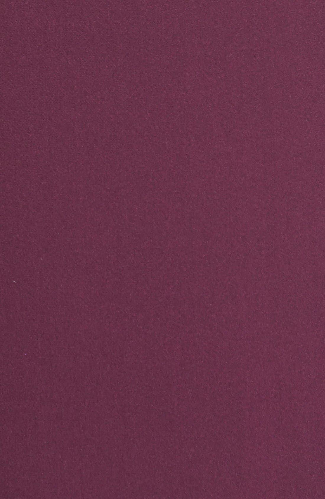 Alternate Image 5  - Matty M Chiffon Overlay High/Low Knit Tank (Regular & Petite)
