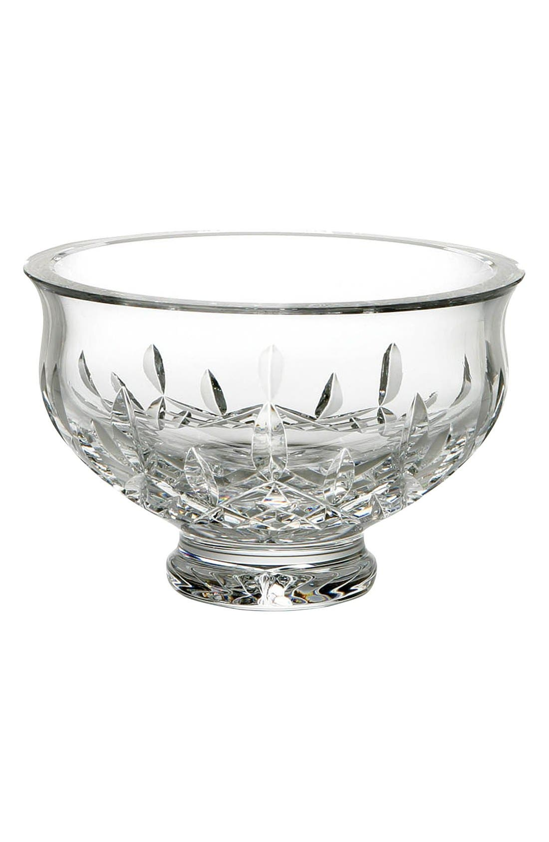 Waterford 'Lismore' Lead Crystal Footed Bowl