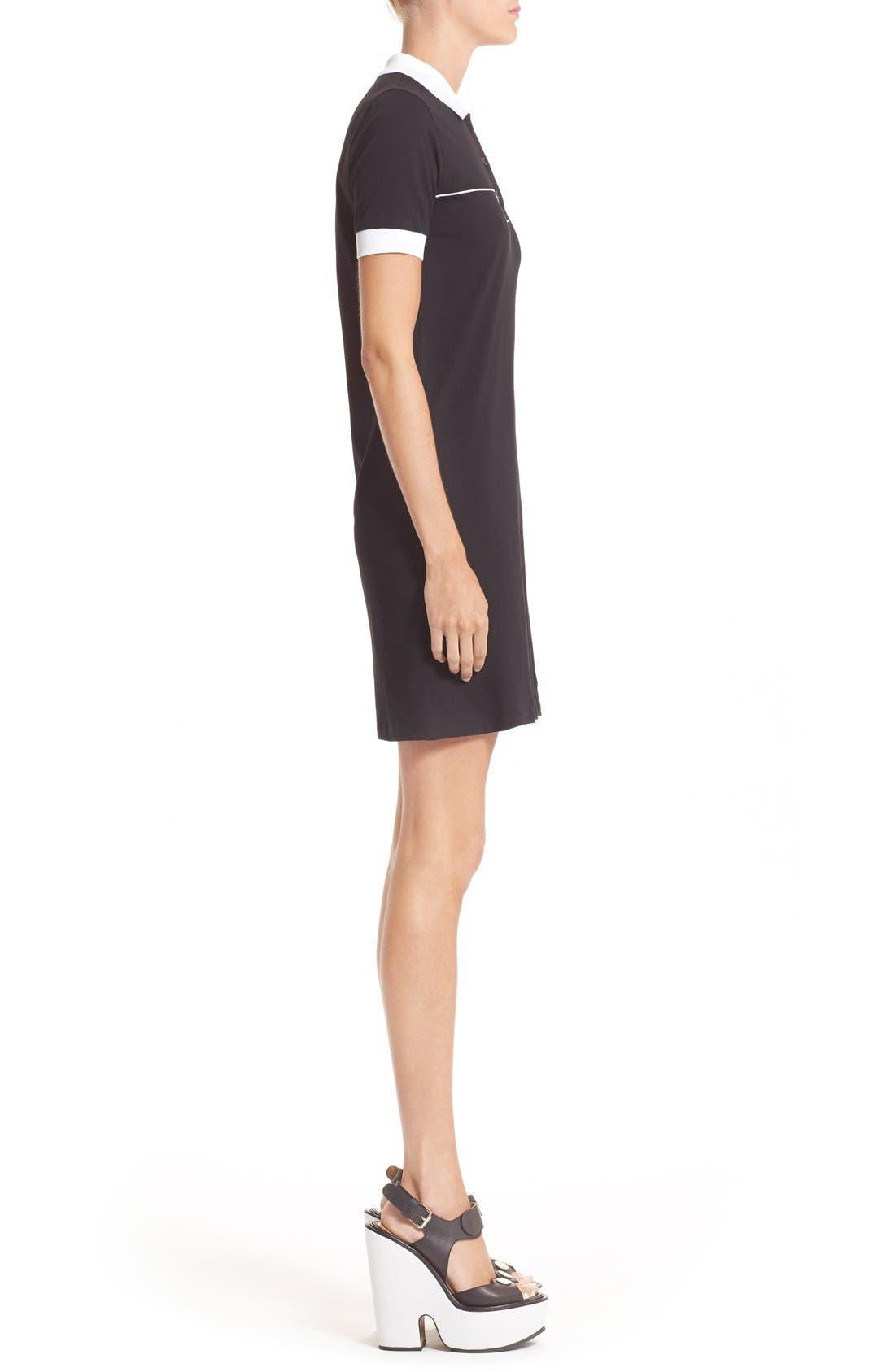 Alternate Image 3  - Carven Cotton Polo Dress
