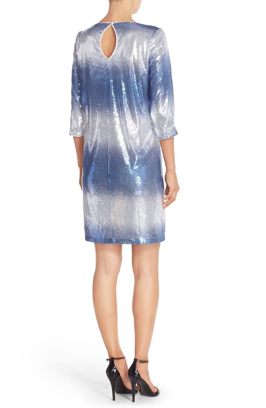 Alternate Image 2  - Maia Stretch Sequin Dress