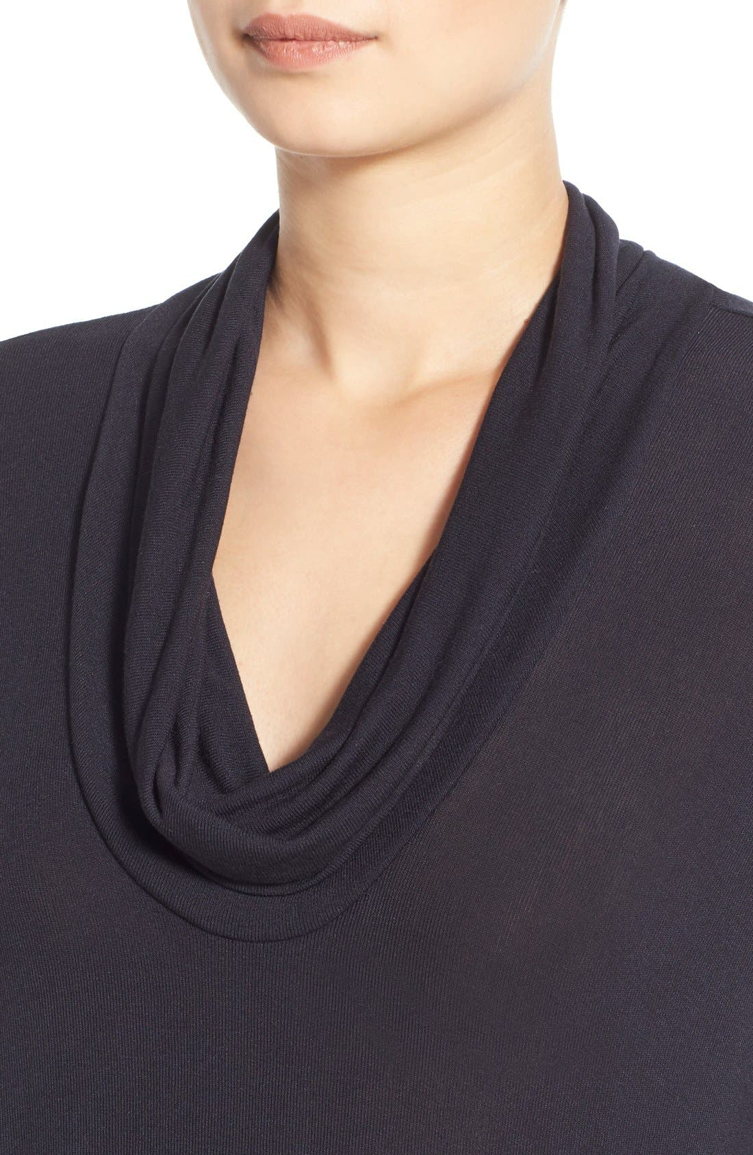 Alternate Image 4  - Lush Cowl Neck Sweater