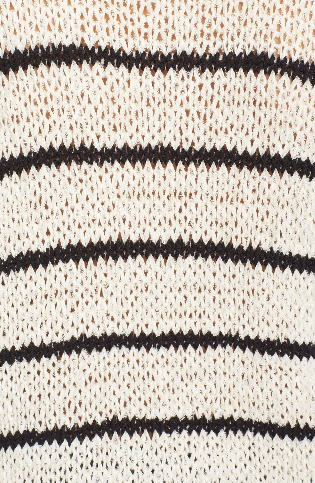 Alternate Image 5  - IRO Stripe Cotton Blend Knit Sweater