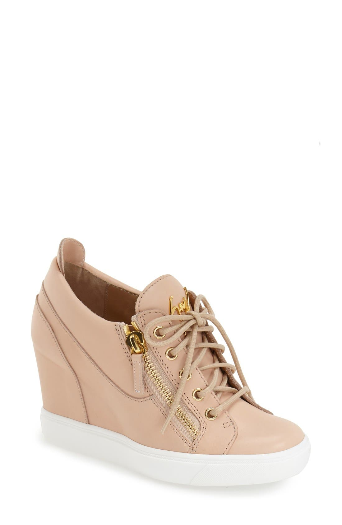 GIUSEPPE ZANOTTI Hidden Wedge Sneaker