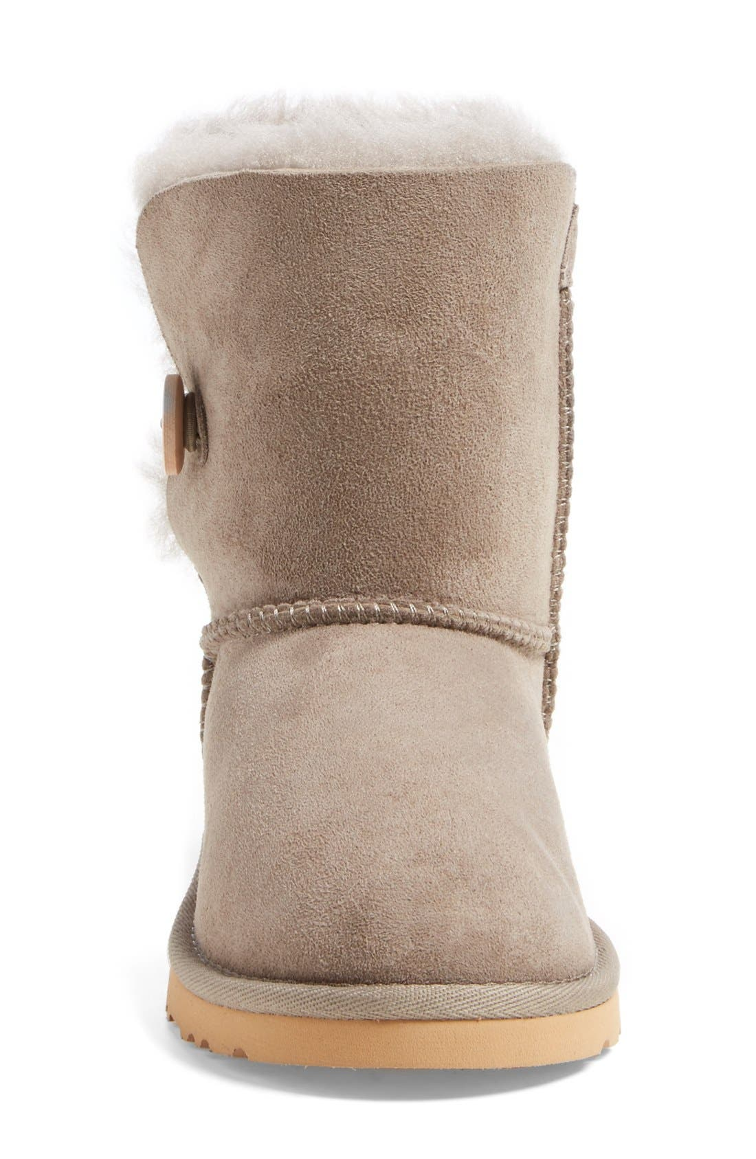 Alternate Image 3  - UGG® 'Bailey Button' Boot (Walker, Toddler, Little Kid & Big Kid)