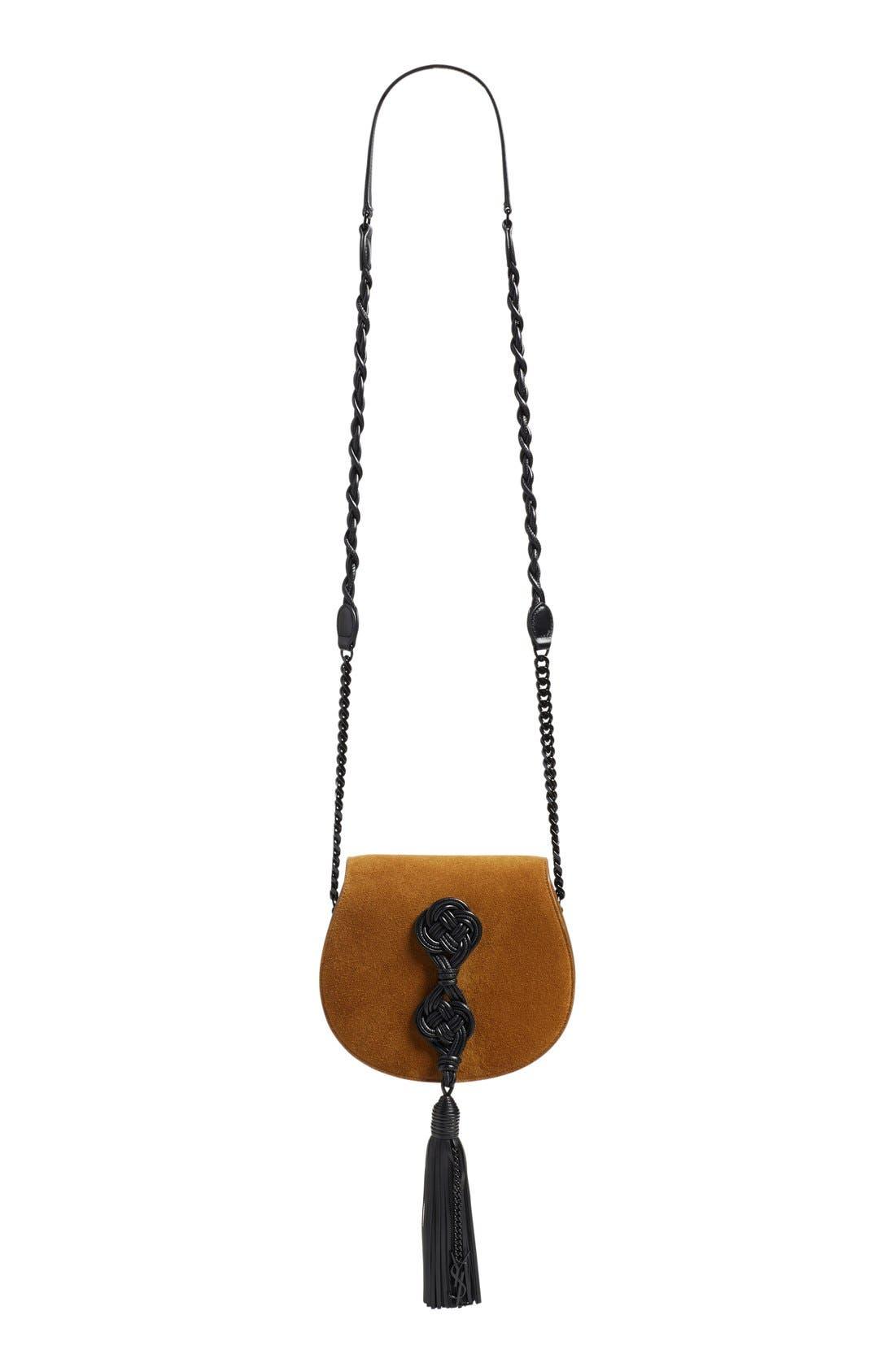 Alternate Image 2  - Saint Laurent Passementerie Crossbody Bag