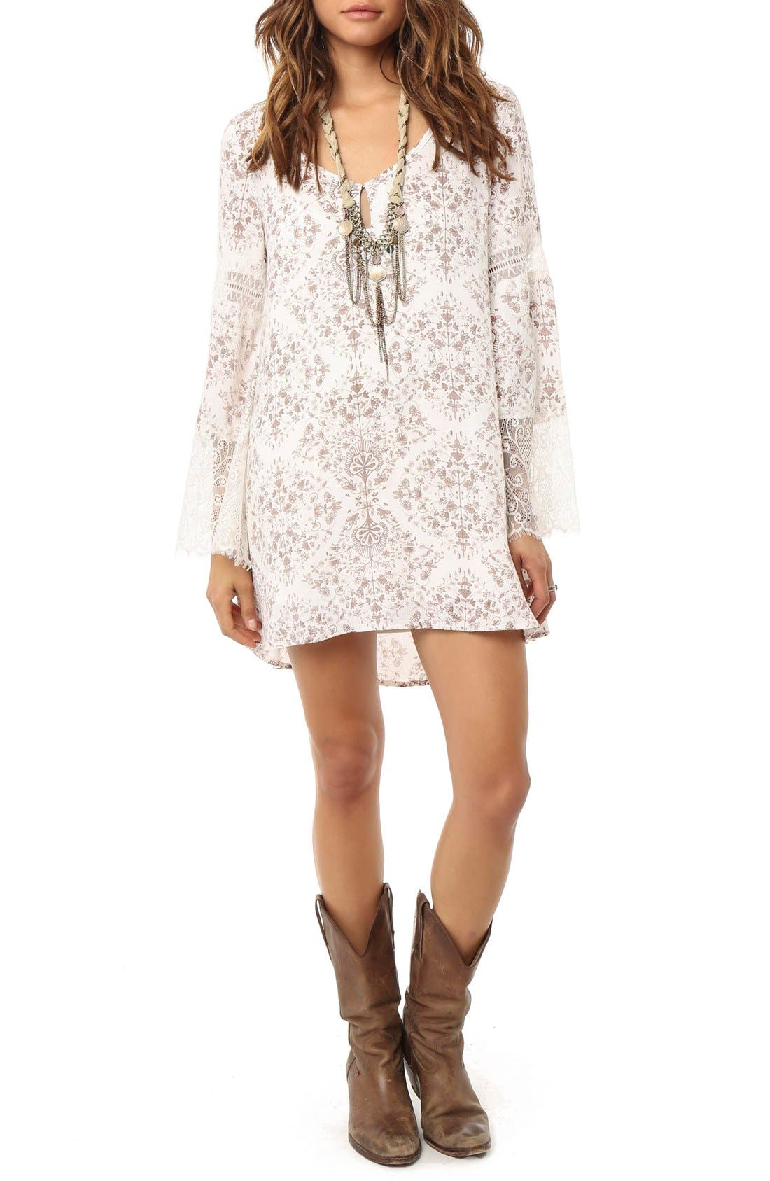 Alternate Image 1 Selected - O'Neil 'Panama' Shift Dress