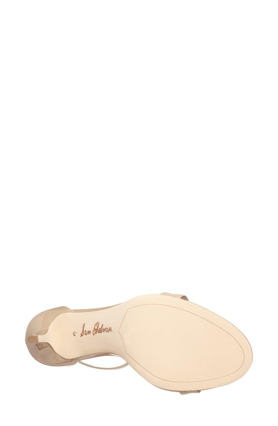 Alternate Image 4  - Sam Edelman 'Patti' Ankle Strap Sandal (Women)