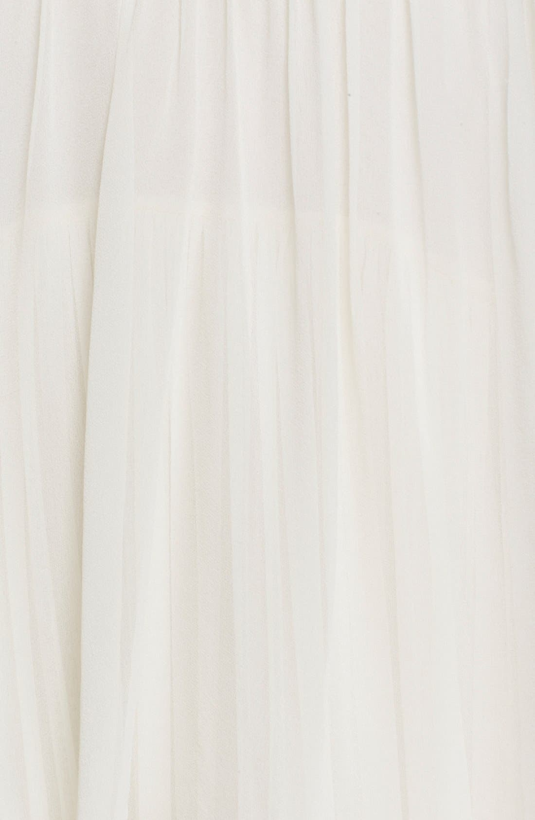 Alternate Image 5  - Elizabeth and James 'Mael' Blouson Silk Maxi Dress