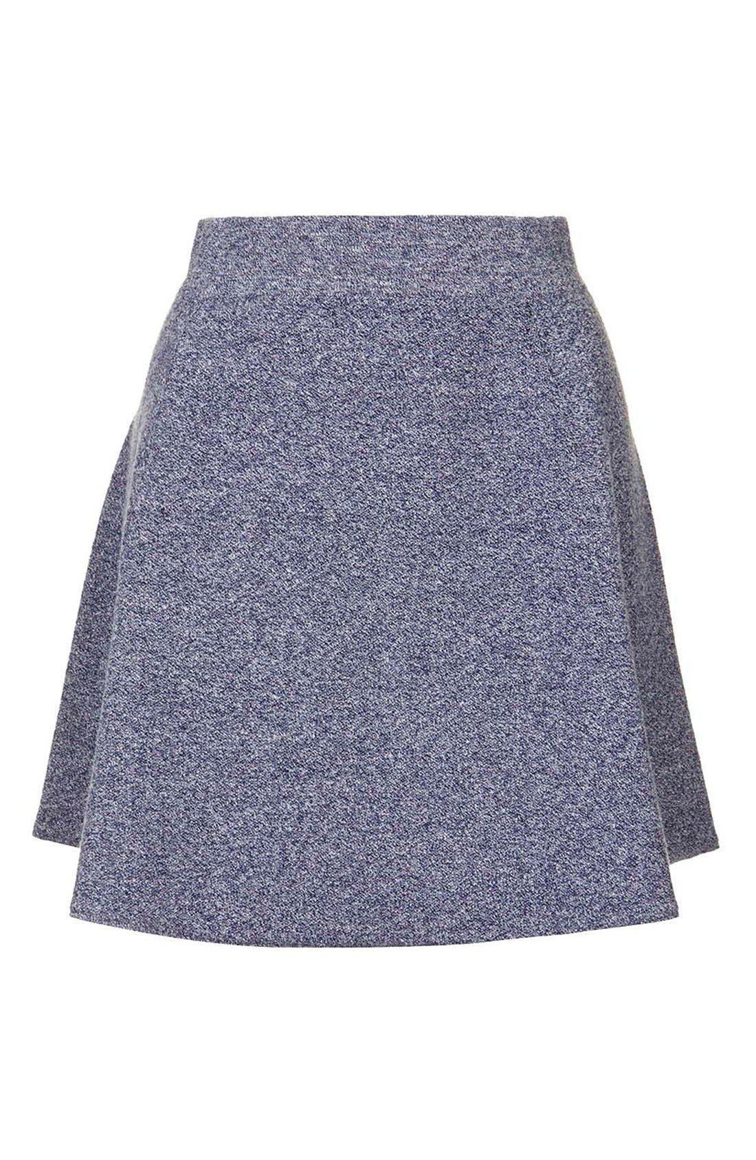Alternate Image 5  - Topshop Flippy A-Line Skirt
