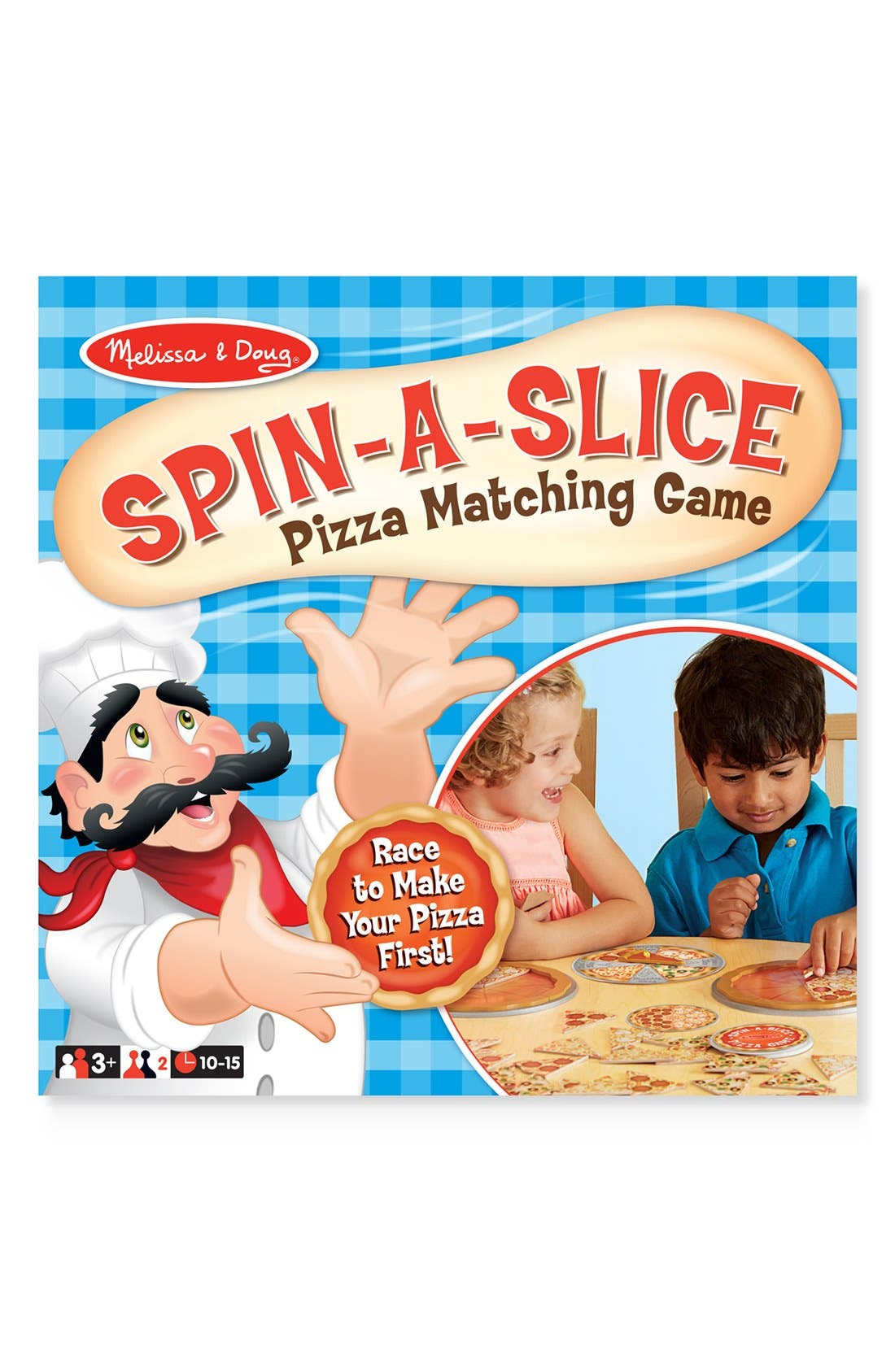 Melissa & Doug 'Spin-A-Slice' Pizza Matching Game
