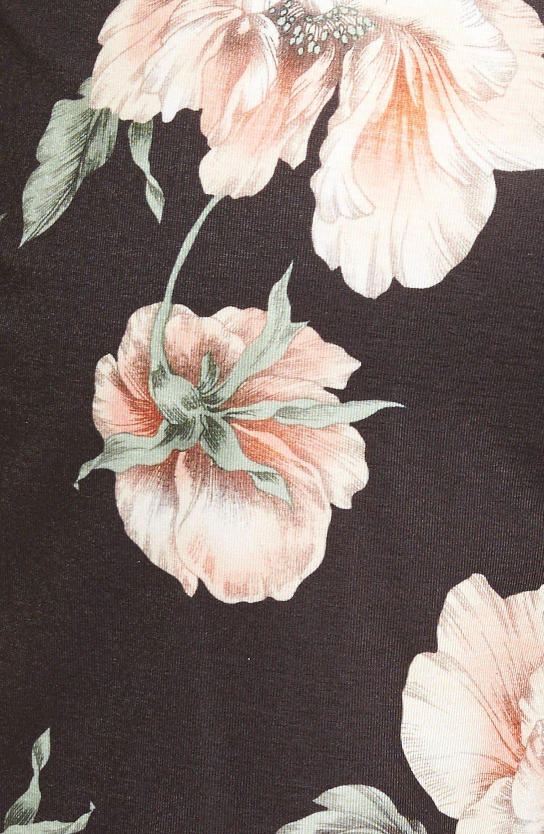 Alternate Image 5  - Missguided Floral Print Plunge Romper
