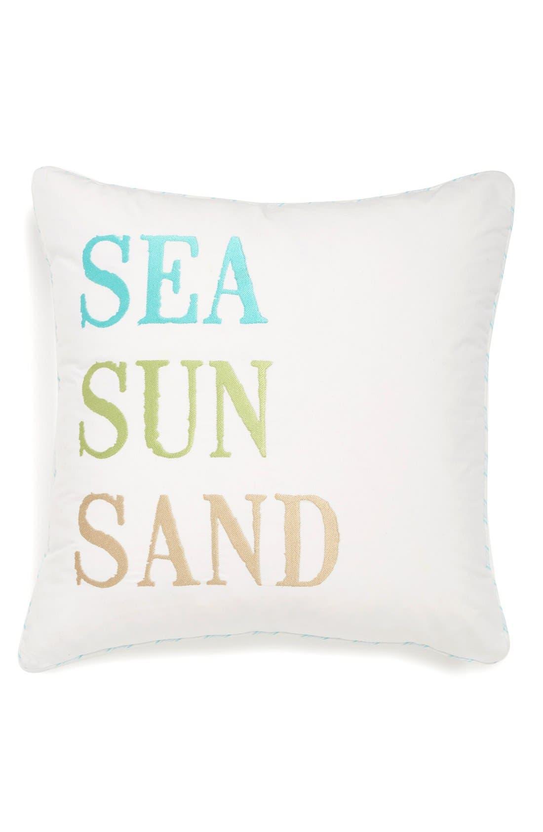Main Image - Levtex 'Sea, Sun, Sand' Pillow