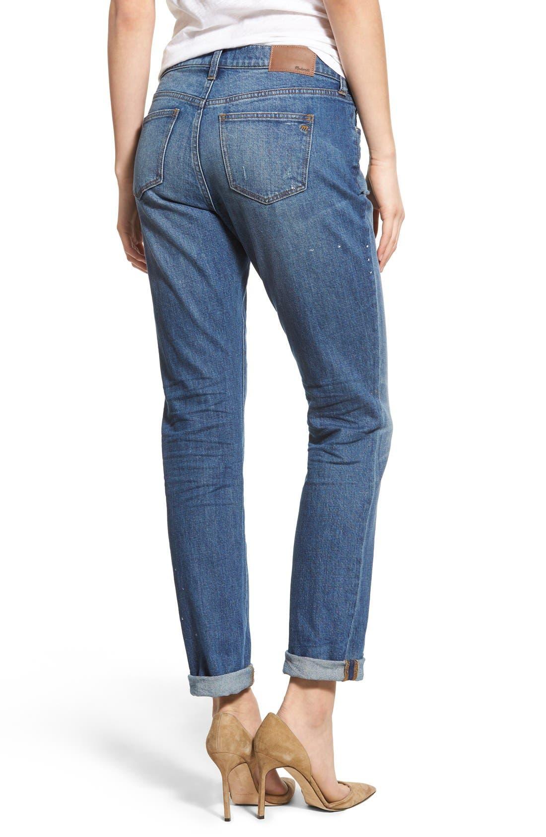 Alternate Image 2  - Madewell Slim Boy Jeans (Hatfield)