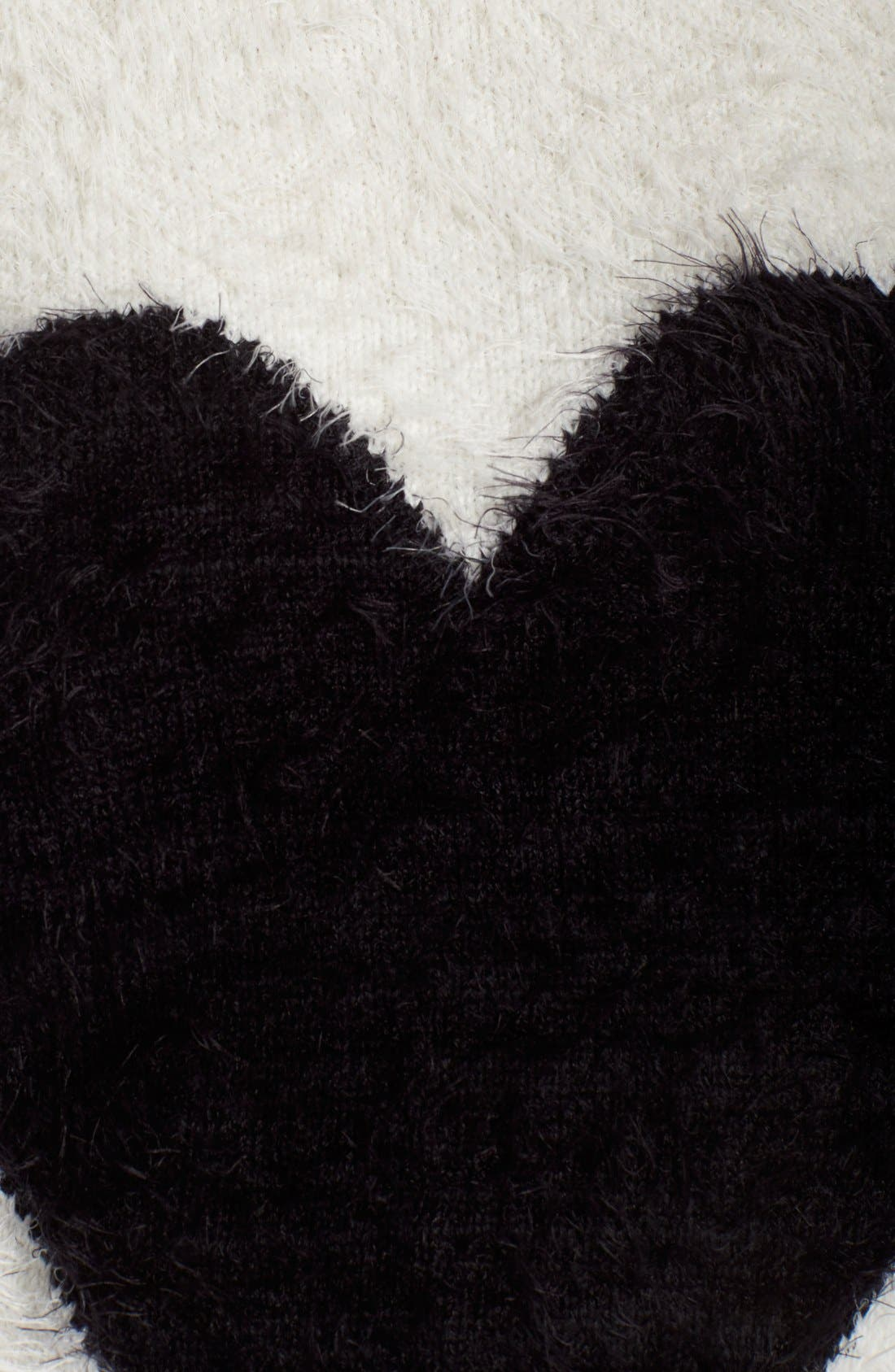Alternate Image 5  - PJ Salvage Heart Front Sweater