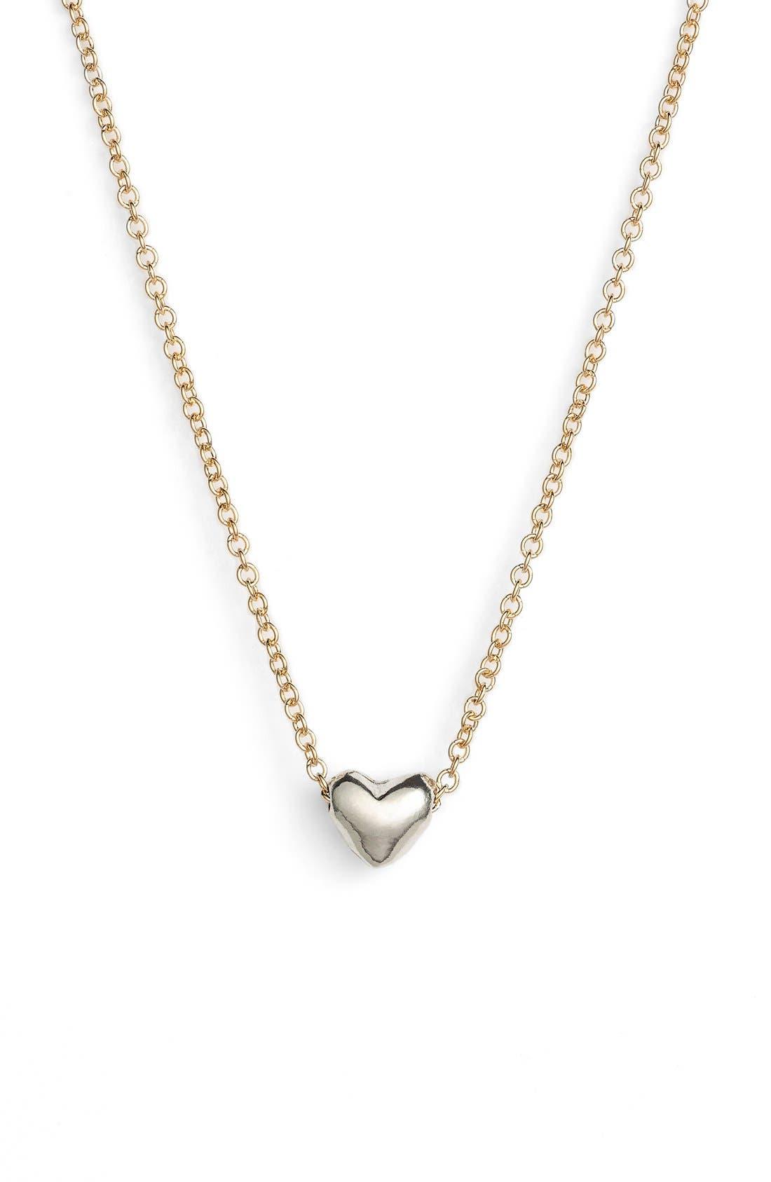 Alternate Image 2  - Dogeared 'Chain Heart' Pendant Necklace