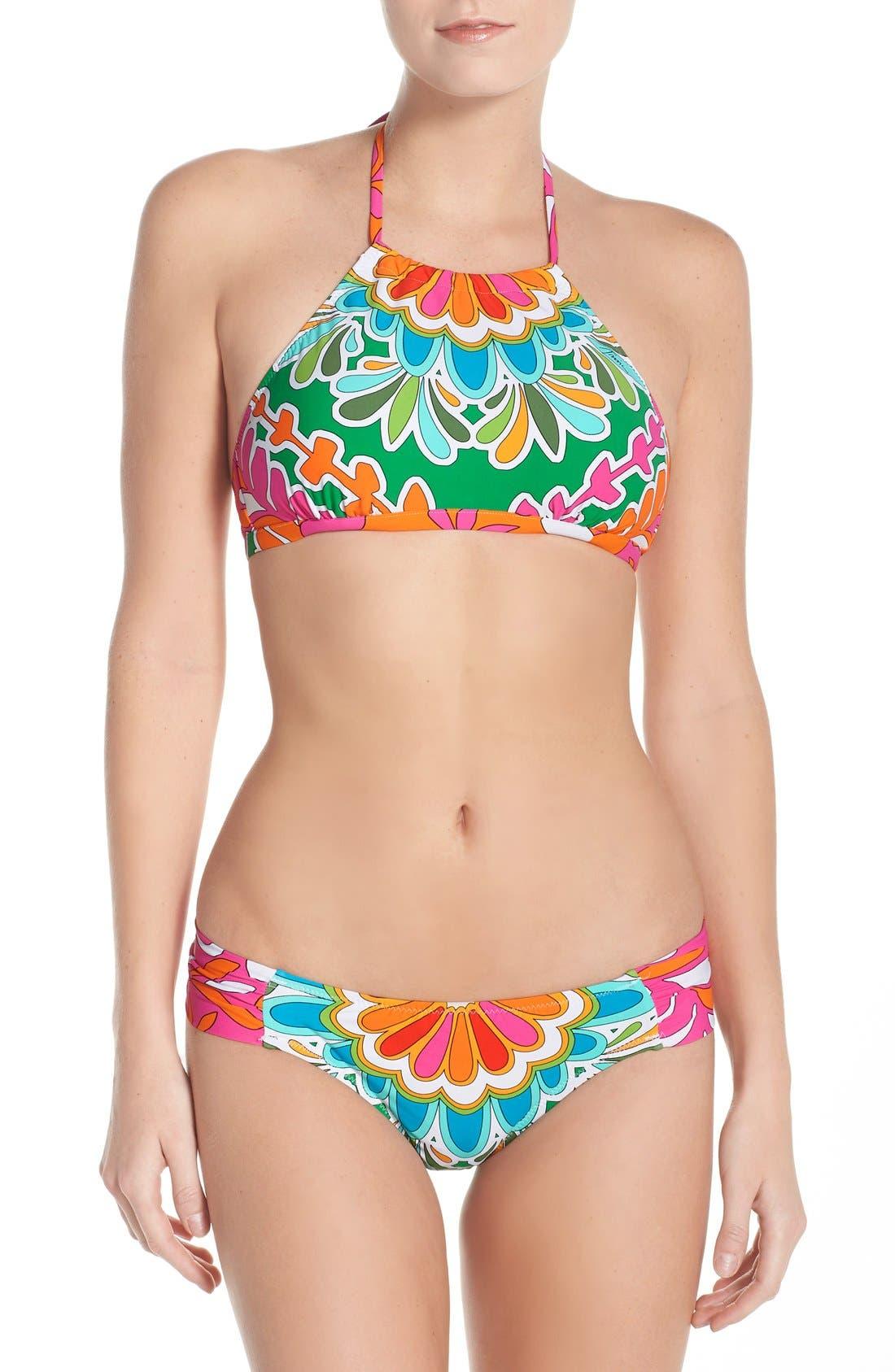 Alternate Image 4  - Trina Turk 'Tamarindo' Hipster Bikini Bottoms