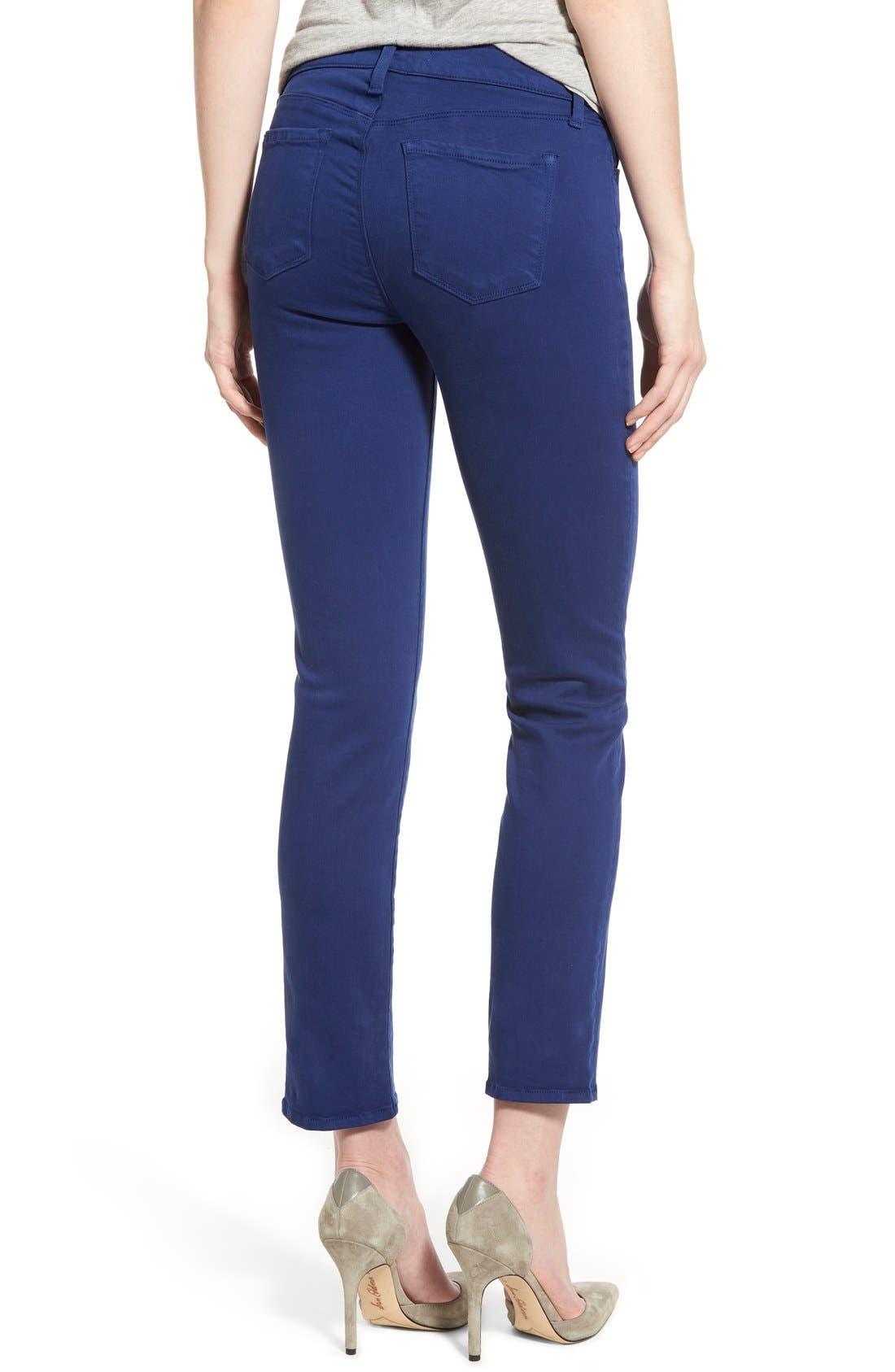 Alternate Image 2  - J Brand 'Rail' Mid Rise Super Skinny Jeans