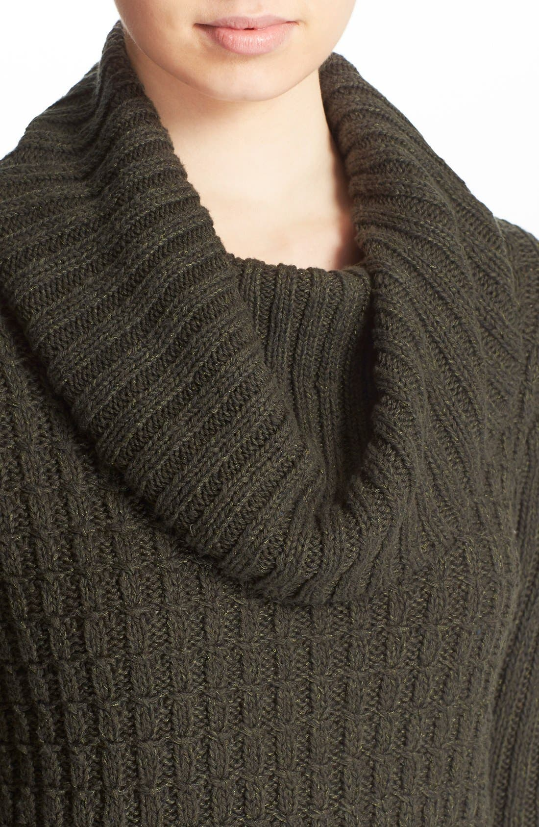 Alternate Image 4  - Free People 'Twisted Cable' Turtleneck Sweater